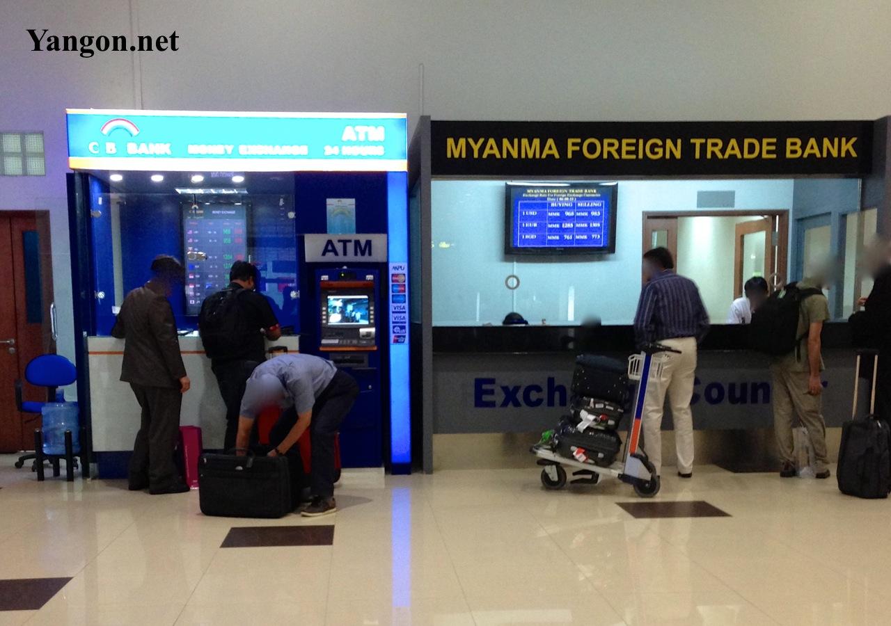 Yangon Airport Exchange Money